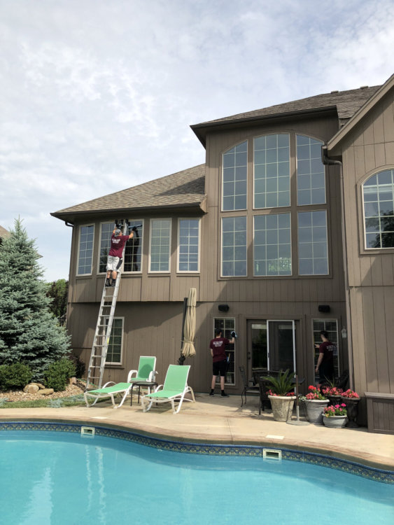 residential window cleaning paxton 1